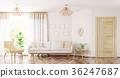 Living room interior 3d rendering 36247687