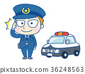 police, officer, salute 36248563
