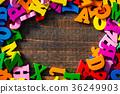 많은 알파벳 36249903