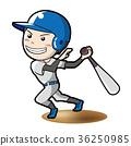 baseball, baseballs, batter 36250985