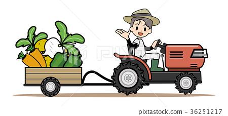 農業 - 拖拉機 36251217