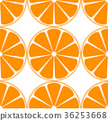 Orange Fruit Seamless Pattern 36253668