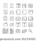 Book Icons 36254083