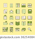 Book Icons 36254084