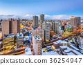 Sapporo, Hokkaido, Japan Skyline 36254947