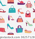 shoes, background, vector 36257128