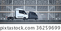 truck, trailer, transport 36259699