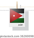 Photo of Jordan flag 36260098