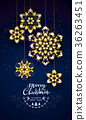 snowflake, christmas, gold 36263451