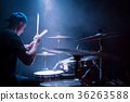 Young drummer at work 36263588