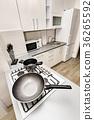 Modern white kitchen 36265592