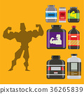 보충, 단백질, 음식 36265839