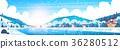 冬天 冬 景色 36280512