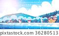冬天 冬 景色 36280513