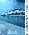 冬天 冬 景色 36280524