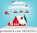 圣诞老人 圣诞老公公 问候 36282931