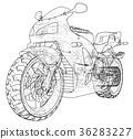 motorcycle, bike, vehicle 36283227