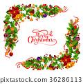 christmas, frame, lettering 36286113