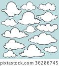 구름, 날씨, 하늘 36286745