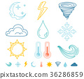 weather,icon,vector 36286859