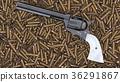 revolver, 3D, pistol 36291867