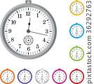 Stopwatch, logo, clock, collection 36292763