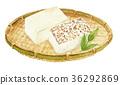 豆腐和烤豆腐 36292869