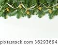 크리스마스 화환 36293694