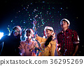 Group of Asian people celebrating New year party 36295269