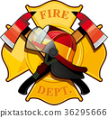 fire department badge 36295666
