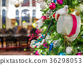 Decorated Christmas tree 36298053