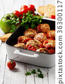 Meat balls with tomato sause 36300117