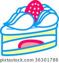 Strawberry shortcake 36301786
