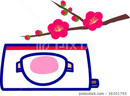 矢量 和果子 日本糖果 36301793