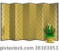 금 병풍, 금병풍, 카도마츠 36303953