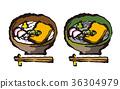 udon, soba, noodles 36304979