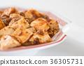 麻婆豆腐(中國菜和蘿蔔) 36305731