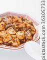 麻婆豆腐(中國菜和蘿蔔) 36305733