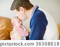 父亲 爸爸 婴儿 36308618