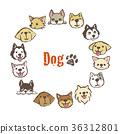 dog, dogs, frame 36312801