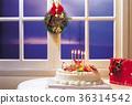 음식, 케이크, 크리스마스 36314542