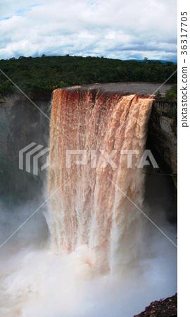 Kaieteur waterfall,  potaro river, Guyana 36317705