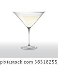 玻璃 鸡尾酒 矢量 36318255