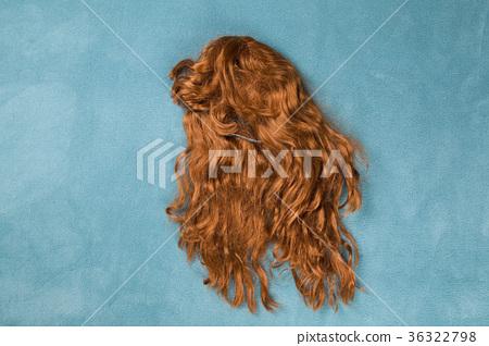 wig on carpet 36322798