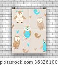 owl cute vector 36326100