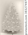 vintage Christmas tree 36327497