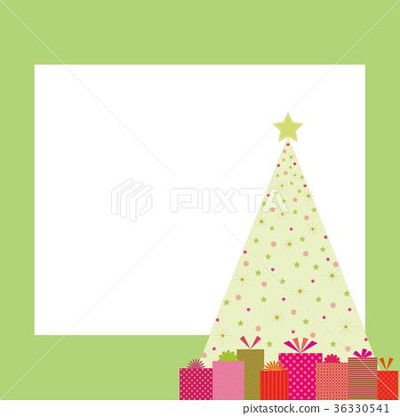 圣诞树 框架 帧 36330541