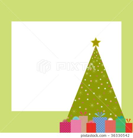 圣诞树 框架 帧 36330542