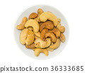 Cashew nuts roasted with salted. 36333685