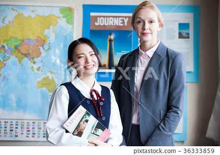 High school student english learning 36333859